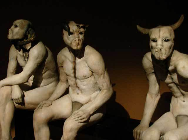 hominidsculpture
