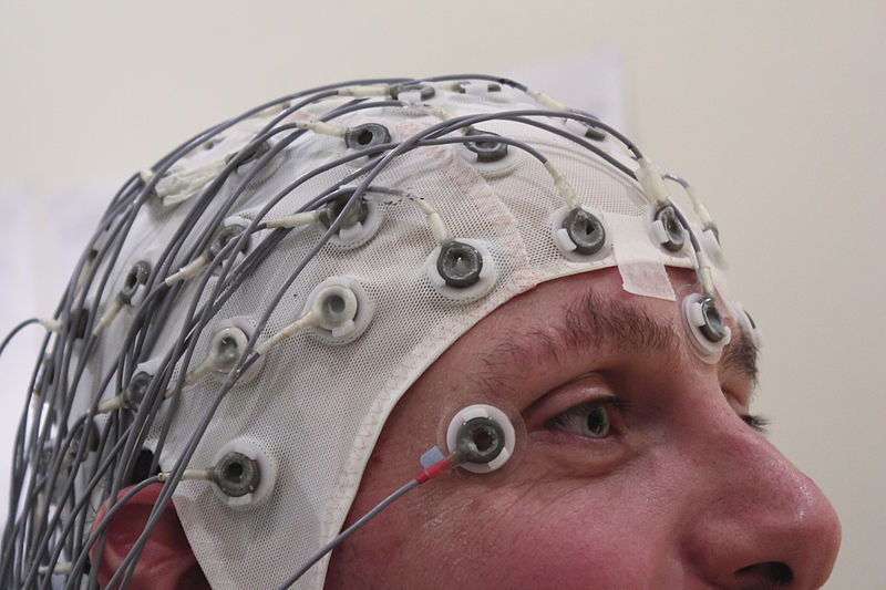 The extra electrodes are to wake the subject up, in the event of fatigue.