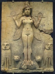 """The Burney Relief, or """"Queen of the Night."""